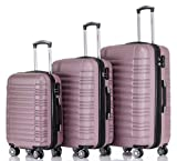 BEIBYE 2088 Zwillingsrollen Reisekoffer Koffer Trolleys Hartschale M-L-XL-Set in...