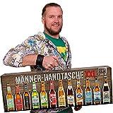 Männerhandtasche XXL von Kalea (die Geschenkidee zum Vatertag mit 12 x 0,33l....