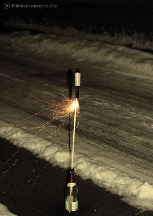 Silvester-Rakete