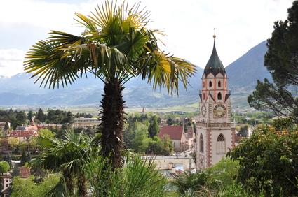 Pfarrkirche in Meran | © Henry Czauderna - Fotolia.com