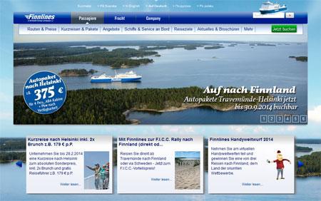 Finnlines Homepage