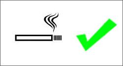 Rauchen erlaubt