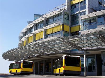 Busbahnhof BER-ZOB | © schaltwerk - Fotolia.com