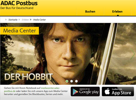 ADAC Postbus Media Center