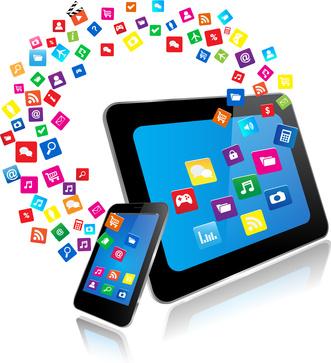 Apps für Tablet & Smartphone | © monicaodo - Fotolia.com