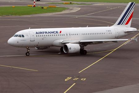 Ein Airbus der Air France