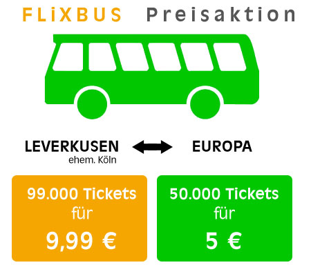 Flixbus Preisaktion
