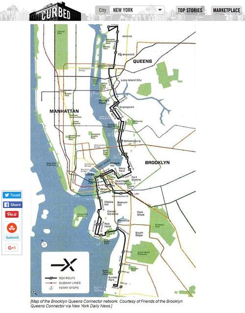 Tramlinie in New York | Screenshot von ny.curbed.com