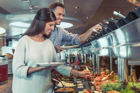 Erstklassiges Essen an Bord | Foto: Jon Inge Nordnes/Allegro