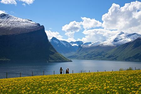 Frühling im Fjord | Foto: Øyvind Heen - Visitnorway.com