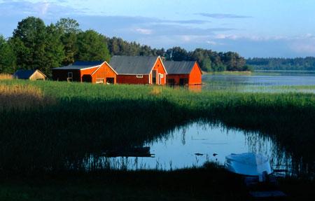 Bootshäuser auf Aland | Foto: Udo Haafke, Visit Finland