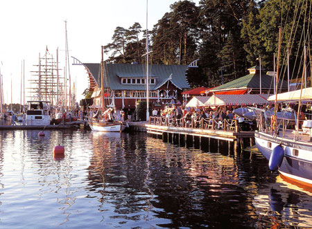 Bootshafen auf Aland | Foto: Visit Finland