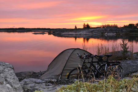 Zelten in der Natur | Foto: Thorsten Brönner, Visit Finland