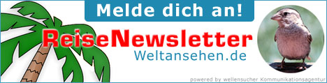 ReiseNewsletter Anmeldung