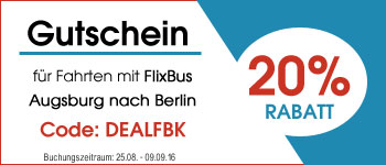 Flixbus Gutschein Code 20% Rabatt