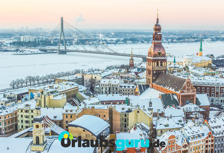 Winter in Riga
