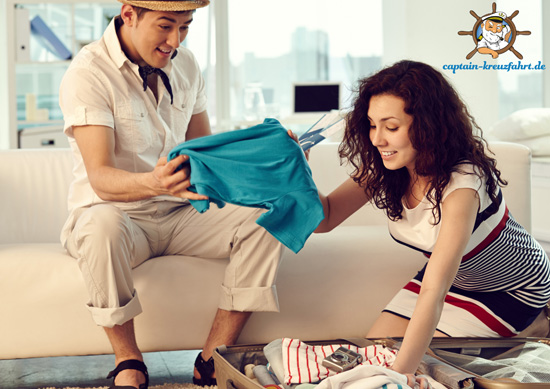 Kreuzfahrt-Packtipps für Frauen und Männer