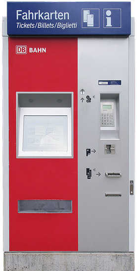 Fahrkartenautomat der DB | anaterate, pixabay.com, CC0 Creative Commons
