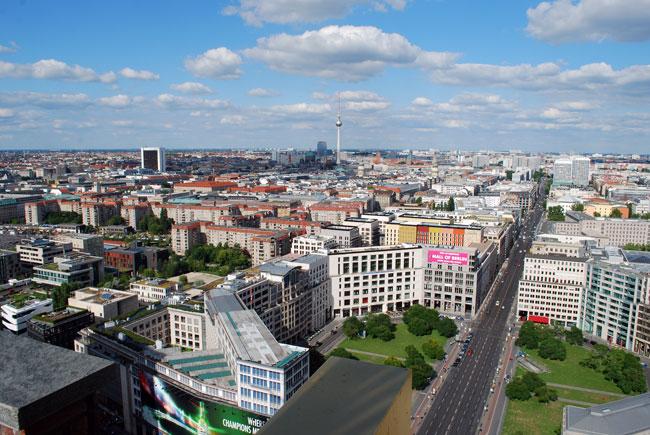 Überblick über Berlin Mitte