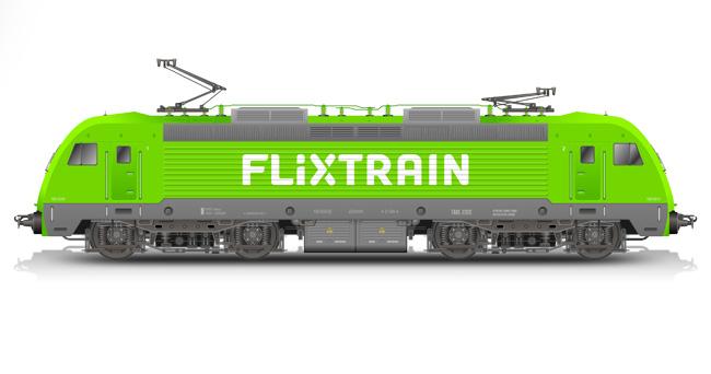 FlixTrain Lok | © FlixMobility GmbH