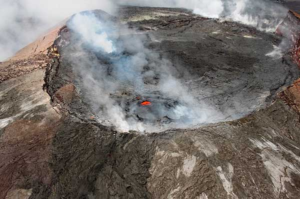 Der Krater des Kilauea Vulkan | Foto: tommygbeatty, pixabay.com, CC0 Creative Commons