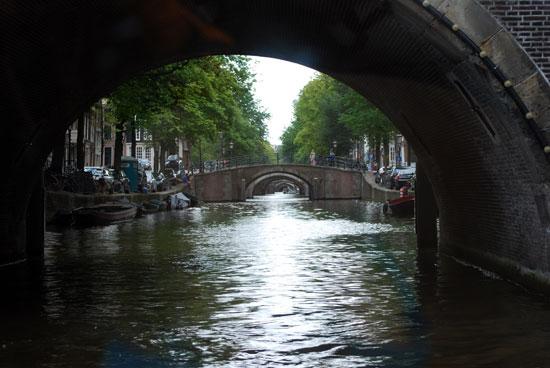 Grachtenfahrt in Amsterdam