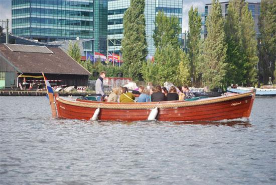 Feiern auf dem Boot