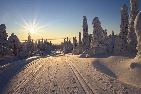 Verschneites Lappland | Foto: adege, pixabay.com, CC0 Creative Commons