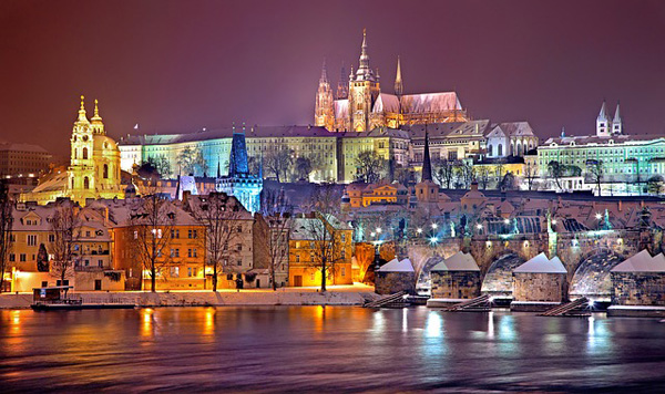 Prag im Winter | Foto: Julius_Silver, pixabay.com, CC0 Creative Commons