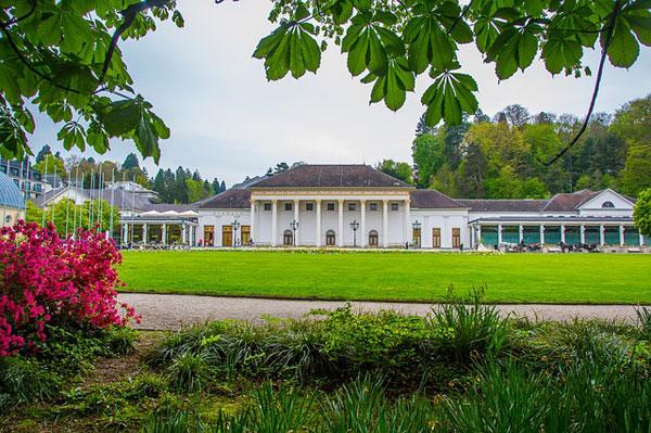 Baden-Baden Kurhaus | Foto: maxmann, pixabay.com, Pixabay License