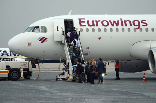 Boarding Eurowings Flugzeug | Foto: snitchde, pixabay.com, Pixabay License