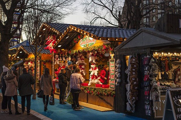 Weihnachtsmarkt | Foto: ShenXin, pixabay.com, Pixabay License
