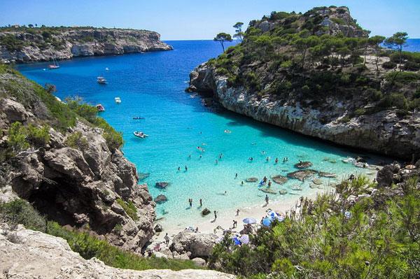 Traumhafte Küsten aud Mallorca   Foto: 4634656, pixabay.com, Pixabay License